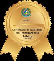 Câmara recebe Certificado de Qualidade de Transparência.