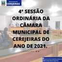 4° Sessão Ordinária/ 08-03-2021
