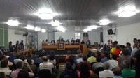 Câmara realiza Sessão especial de posse de Vereador suplente.